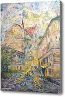 Картина Место встречи Мастера и Маргариты