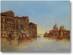 Картина Вид Венеции с Santa Maria della Salute.