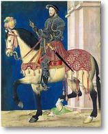 Картина Конный портрет Франциска I