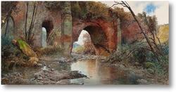Картина Старый водосток
