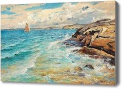 Картина Прибрежные сцена