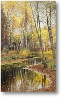 Картина Осенью прошлого года
