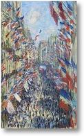 Купить картину Улица Монтогрей.Париж, фестиваль 30 июня 1878