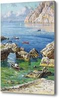 Картина Летняя бухта, Лето Антонио