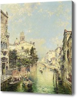 Купить картину Санта Барнаба, Венеция, Унтербергер Франц