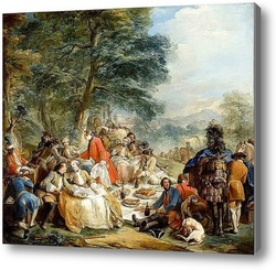 Картина Пикник на охоте