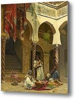 Картина Интерьер мавританского дома