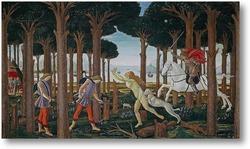 Картина История Настаджио дельи Онести (I)