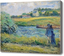 Картина Прогулка около воды