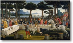 Картина История Настаджио дельи Онести (III)