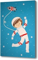 Картина Космонавт