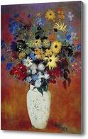 Картина Букет цветов, Редон
