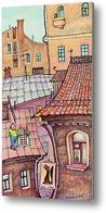 Картина Кис - кис.