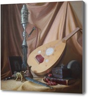 Картина Натюрморт с кальяном