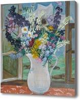 Картина Кувшин со цветами у окна, 1927