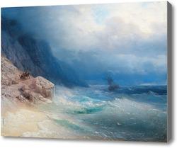 Картина Шторм на море