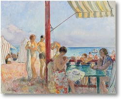 Картина Бар на пляже