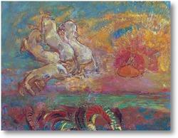 Картина Колесница Аполлона и дракон