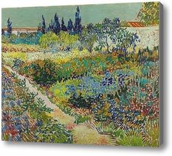 Купить картину Сад с цветами