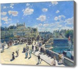 Купить картину Новый мост.Париж
