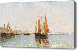 Картина Венеция от Догана