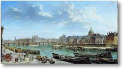 Купить картину Вид на Париж с острова Сите