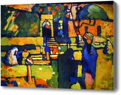 Картина Арабы. Кладбище