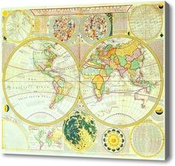 Купить картину Карта мира