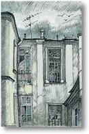 Картина Старые окна.