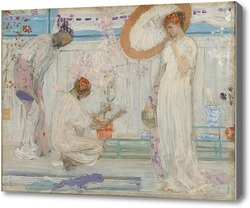 Картина Белая симфония: Три девушки