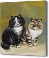 Картина Два маленьких котенка