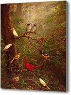 Картина Лесные птицы, Маркхэм Чарльз