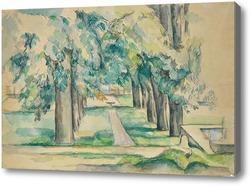 Картина Авеню каштановых деревьев в Жа де Буффане