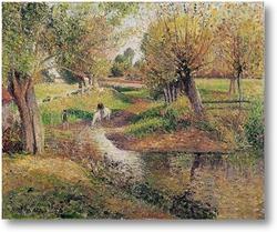 Картина Водопой в Эраньи