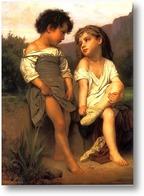 Картина Молодые купальщицы