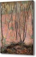 Картина Лесной склон