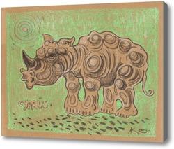 Картина Носорог