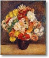 Картина Букет хризантем