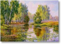 Картина Озерцо