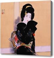 Картина Ито Шинсу, Портрет