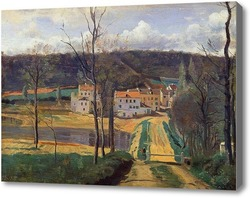 Картина Дома Кабассю в Виль д'Авре