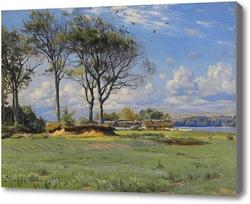 Картина Весенний пейзаж