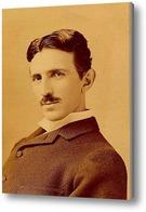 Картина Никола Тесла
