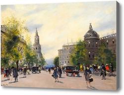 Картина Улицы большого города