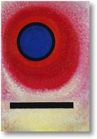 Картина Синий круг №2