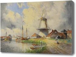 Картина Мельница в Голландии