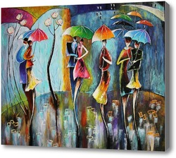 Картина Ночная радуга