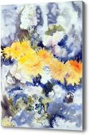 Картина Желтый и синий