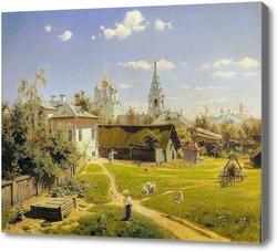 Картина Московский двор
