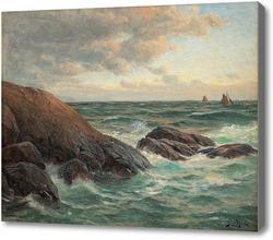 Картина Волны у берегов